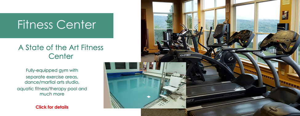 Rangeley Health and Wellness, Full service gym with fitness